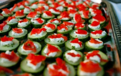 Premiere catering redding ca hors d oeuvres for Canape hors d oeuvres